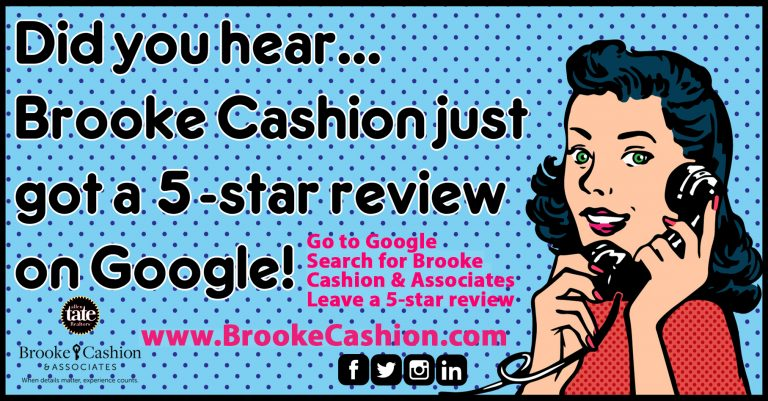 Please give us a 5-STAR review on Google